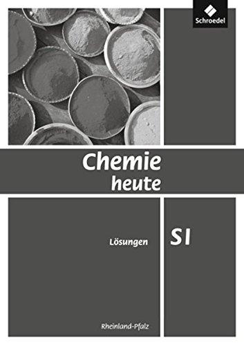 Chemie heute SI - Ausgabe 2010 für Rheinland-Pfalz: Lösungen
