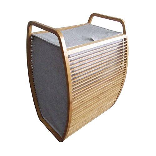 Wäschekorb mit Deckel 40 x 35,5 cm, h 60 cm