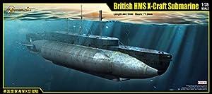 Merit 63504 - Ready-británico HMS X-Craft Submarino