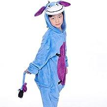 Pijama Ropa de dormir Disfraz de Animal Franela para Niños niñas-IFLIFE