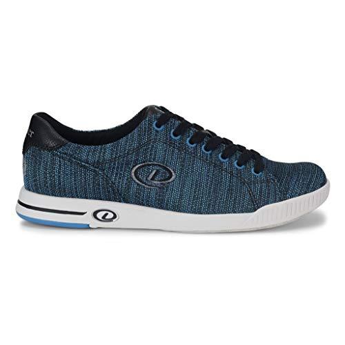 Dexter Herren Bowlingschuhe Pacific Blau/Schwarz, 10,5 M