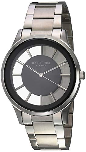 Kenneth Cole Men's Classic 44mm Steel Bracelet & Case Quartz Watch KC50500007