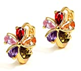 #9: Valentine Gifts : YouBella Jewellery Valentine Collection AAA Swiss Zircon Fancy Party Wear Earrings for Girls and Women