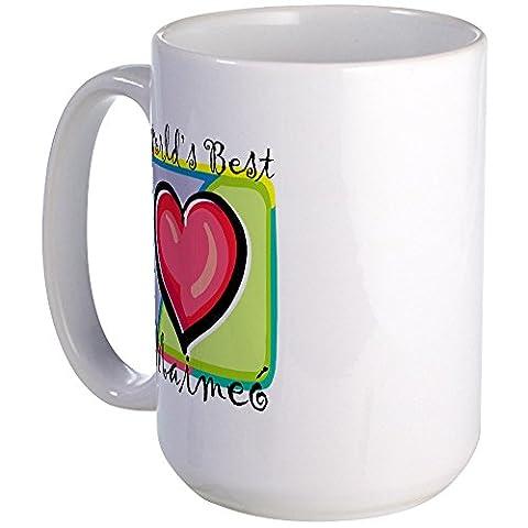 CafePress - WB Grandma [Irish Gaelic] - Coffee Mug, Large 15 oz. White Coffee Cup