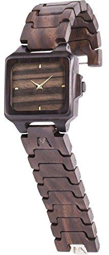 MATOA Rote - Reloj de madera hecho a mano con...