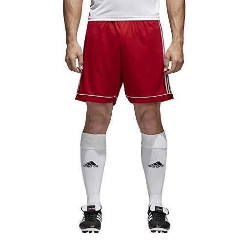 adidas Herren Squadra 17 Trainingsshorts Squadra 17, Rot (Power Red / White), XXXL (Herstellergröße: XXXL)