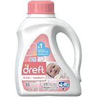 Dreft Stage 1: Newborn Liquid Laundry Detergent (HE), 40 oz, 25 loads by Dreft