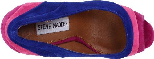 Steve Madden Gaayle Womens Blue Multi