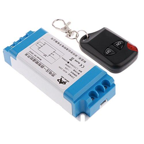 MagiDeal 433MHz Wireless Opener Remote Control Fernbedienung Sender Transceiver Empfänger, 2-Kanal Control Transceiver