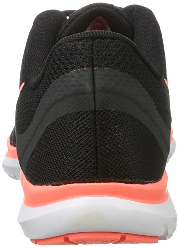 Nike Flex Trainer 6, Scarpe Sportive Indoor Donna Nero (Black/lava Glow-anthracite)