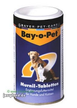 Bay O Pet Murnil Tabletten, 80 St