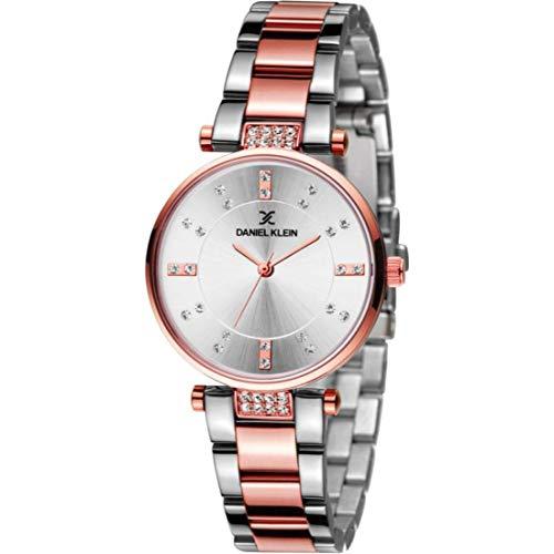 Daniel Klein Analog Silver Dial Women's Watch - DK11328-6