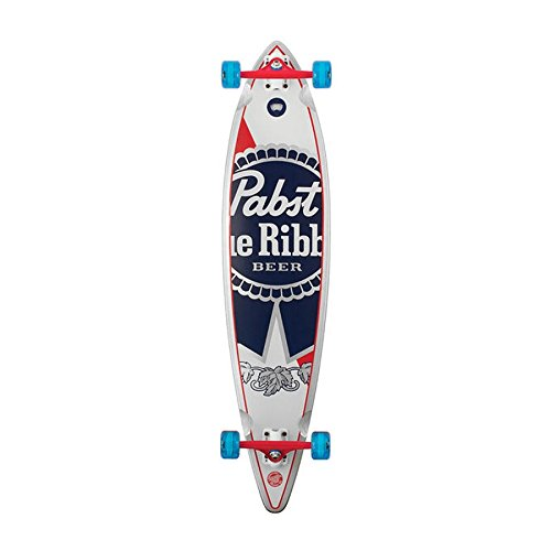 "Santa Cruz Pabst Blue Ribbon Pintail 9.9 x 43.5"" Longboard 2015"