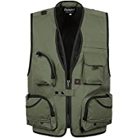 GDS/hombres de vests. al aire libre fotografía vest. multifuncional vest. vest.–Chaleco de pesca multifunción, 4-XXL