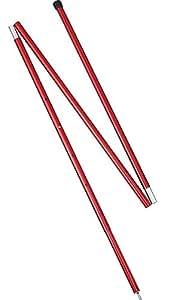 MSR–Adjustable Pole 5ft, couleur Red