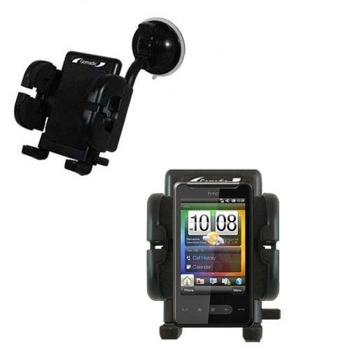 HTC Photon Windschutzscheibenhalterung für KFZ / Auto - Cradle-Halter mit flexibler Saughalterung für Fahrzeuge