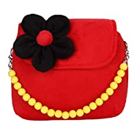 highouse Children Mini Shoulder Bag Kids Girls 3D Flower Messenger Handbag Pearl Pendant Mini Crossbody Bag(None 3)
