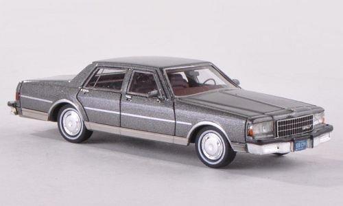 Chevrolet Caprice Classic, metallic-grau, 1986, Modellauto, Fertigmodell,  Neo 1:87