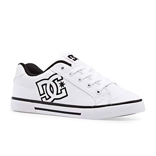 DC Shoes Chelsea TX J Shoe BGC Sneakers Donne Blu - 39 - Sneakers Basse