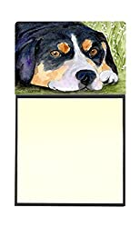 Carolines Treasures SS8596SN Entlebucher Mountain Dog Refillable Sticky Note Holder or Postit Note Dispenser, 3.25 by 5.5, Multicolor