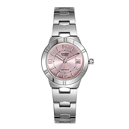 Casio Enticer Analog Pink Dial Women's Watch - LTP-1241D-4ADF (A873)  available at amazon for Rs.2195