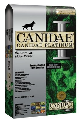 Canidae Platinum Senior Dry Dog Food 15 lb by CANIDAE