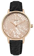 Daisy Dixon Womens Analogue Classic Quartz Watch with PU Strap DD051BRG
