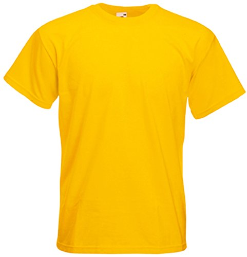 Fruit of the Loom T-Shirt Super Premium Sonnenblumengelb ()