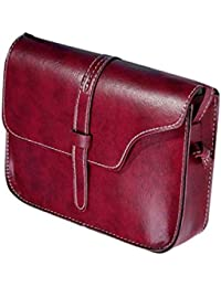 Elecenty Handtasche Damen Mini Shopper Schultertasche,Frauen Retro/Mädchen Tragetaschen Elegant Tasche/Umhängetasche Strandtaschen Damentasche Henkeltaschen Taschen