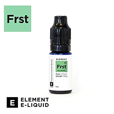V-Frost (Ice Menthol) Flavour - Premium E-Liquid Vaping Liquid For Electronic Cigarette Shisha Pen - No Nicotine from Element E-Liquid