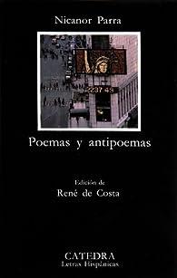 Poemas y antipoemas par Nicanor Parra