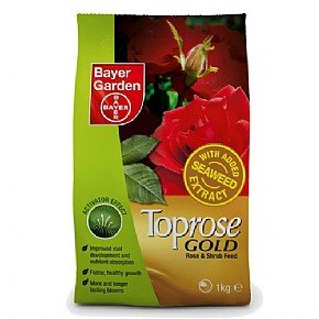 Bayer Garden Toprose Gold Rose and Shrub Food, 1 kg