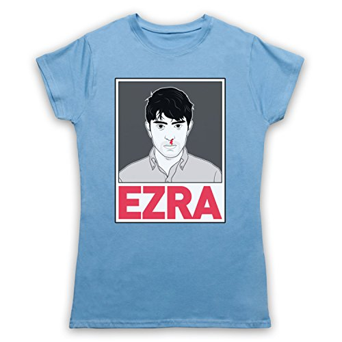 Inspiriert durch Ezra Furman Illustration Unofficial Damen T-Shirt Hellblau