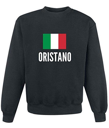 Felpa Oristano city Black