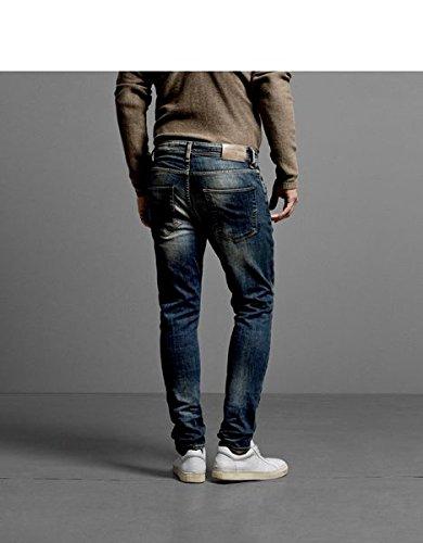 SELECTED HOMME Herren Skinny Jeans One Roy 1350 NOOS I Blau (Medium Blue Denim)