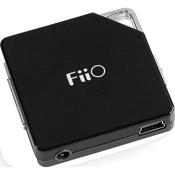 FiiO Fujiyama E06 tragbarer Kopfhörer Verstärker (3.5 mm Stereo Jack, Schwarz)