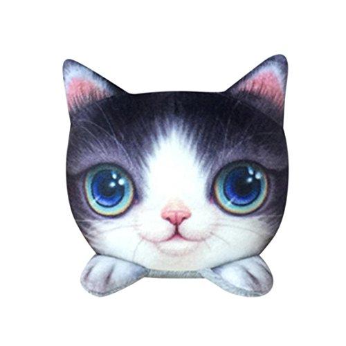 Deodorant Secret Creme (QUINTRA Lustige Katze Puppe Auto Dekor Purify Air Bambuskohle Tasche Adsorbieren Geruch Deodorant (A))