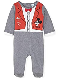 679d5f6a0 Disney Mickey Mouse Official Boys Romper Playsuit, Sleepsuit Footie Outfit  Onesie in Elegant Style with Tie…