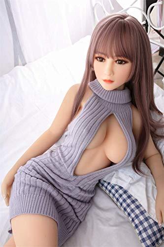 JFDOLL Sex Real Doll Model - Feine Taille - Gegerbte Haut, 100{d06baff69ad5607fa3da0362fd904921de1f78b0affbdc86c634097d6c73c406} festes TPE und Skelettmetall, Sexuelle Silikonpuppe für Erwachsene