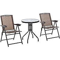 Amazon.es: conjunto mesas y sillas comedor - 50 - 100 EUR ...