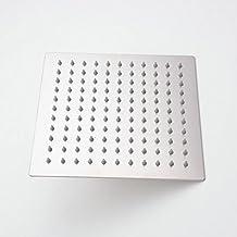 Hiendure® 30 cm ultra sottile acciaio inossidabile soffione doccia soffione