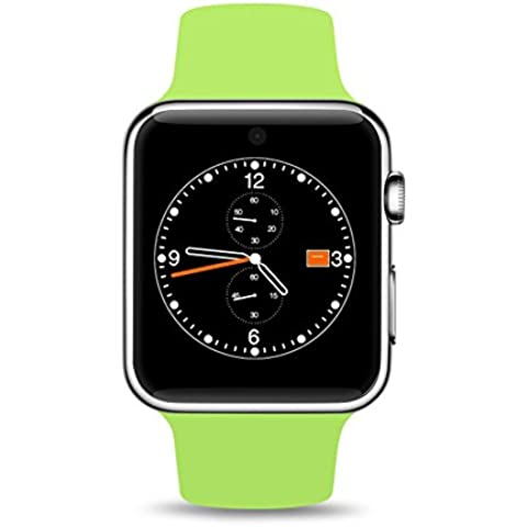 DM09 impermeabile di sostegno dello schermo di Smart Guarda tocco SIM Corona carica magnetica voce di lettura chiamata Monitoraggio Ricordare Bluetooth orologio da polso per Android e IOS