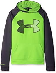 Under Armour Storm Jumbo – Sudadera con capucha para niño, Af Storm Jumbo Ua Hoody, Fuel Green, FR : S (Taille Fabricant : YSM)