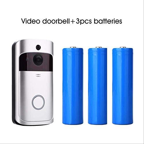 Video Türklingel V5 Doorbell Smart Ip Wifi Video Intercom Wi-fi Door Phone Bell Camera Für Wohnungen Ir Alarm Wireless Security Camera kombination Cmos Video Door Phone