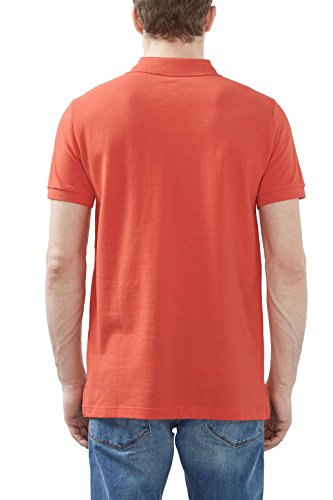 ESPRIT Herren Poloshirt Rot (Orange Red 635)