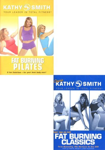 Kathy Smith - Your Leader In Total Fitness - Fat Burning Classics / Fat Burning Pilates (2 Pack)