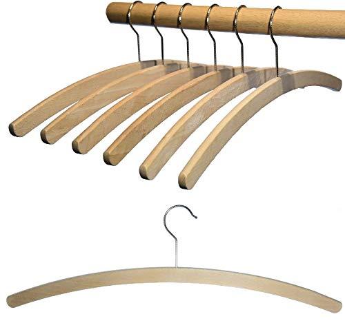 Holzkleiderbügel  <strong>Einsatzbereich</strong>   Haushalt, Waschräume, Garderobe, Kleiderschrank