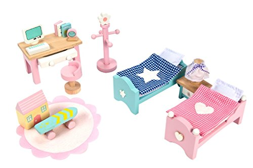 Le Toy Van Daisylane Child's Bedroom Set Camera da Bambole, Mobili