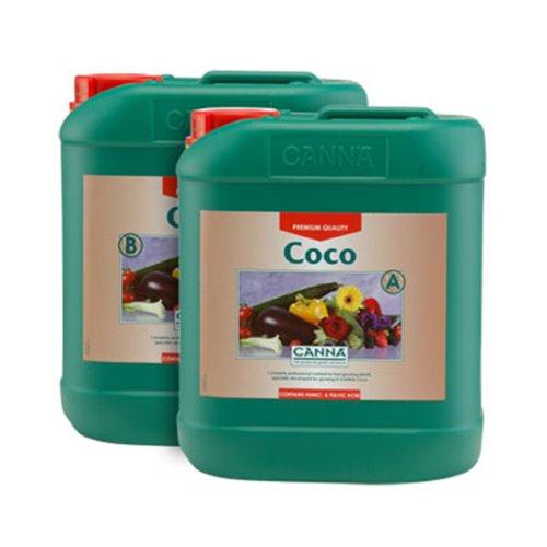 Canna Coco Pflanzendünger, 1 Liter, A & B, 2 Flaschen -