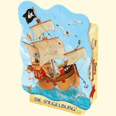 Minipuzzle Captn Sharky Piratenschiff